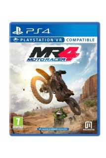 Moto Racer 4 (c поддержкой VR) (Русская версия) [PS4]