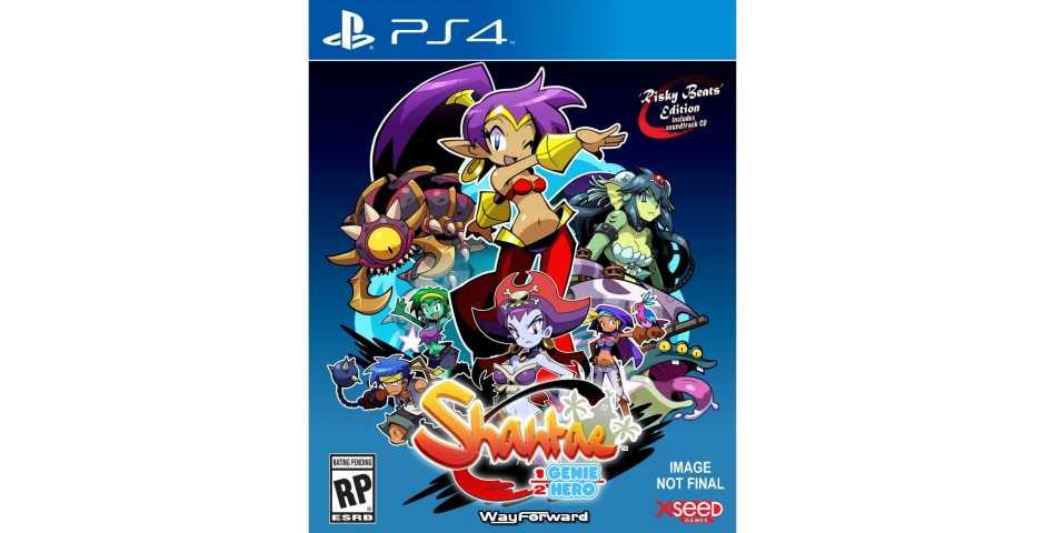 Shantae : Half-Genie Hero (Русская версия) [PS4]