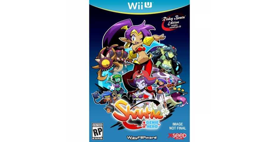 Shantae : Half-Genie Hero [Wii U, русская версия]