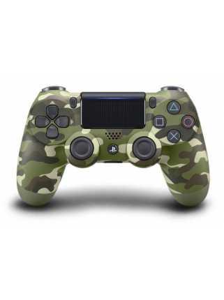 Беспроводной контроллер DUALSHOCK 4, зеленый камуфляж