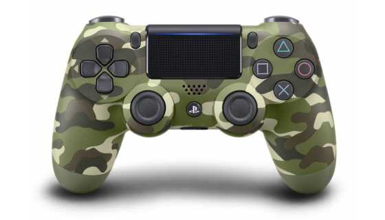 Джойстик беспроводной Wireless Controller Green Camouflage [PS4]
