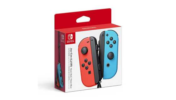 Nintendo Switch - Joy-Con (L/R)-Neon Red/Neon Blue