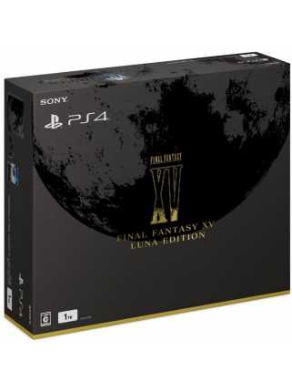 Sony PlayStation 4 (1ТБ), FINAL FANTASY XV LUNA EDITION