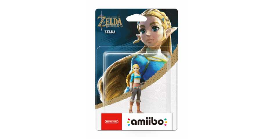 Фигурка amiibo - Зельда (Zelda коллекция The Legend of Zelda)