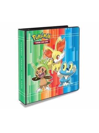 Альбом для карт с добавляемыми листами «Pokémon XY» (3х3 кармашка)