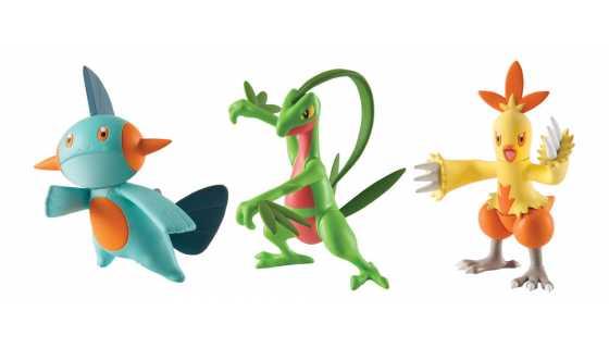 Набор из 3 фигурок «Комбаскен, Марштомп и Гровайл»