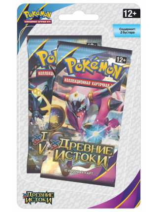 Pokemon XY «Древние истоки». Блистер