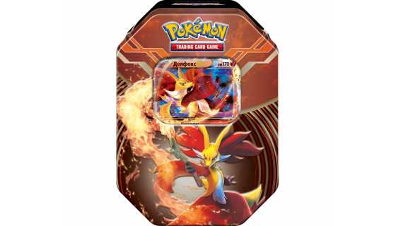 Pokémon XY. Коллекционный набор «Делфокс»