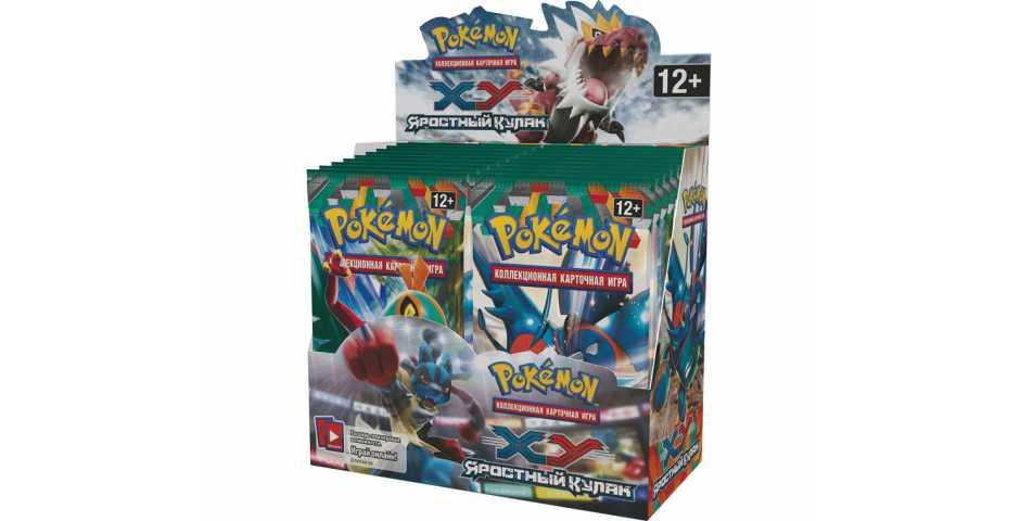 Pokemon XY «Яростный Кулак». Набор бустеров