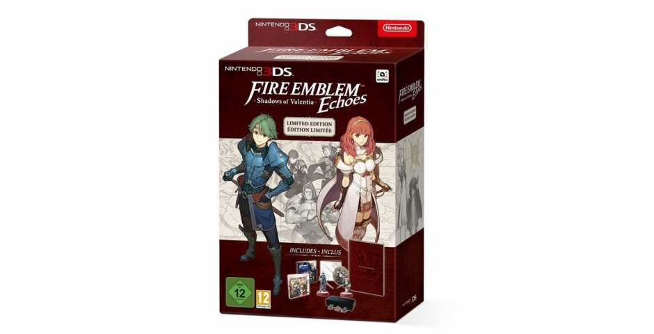 Fire Emblem Echoes: Shadows of Valentia Limited Edition (Без игры) [3DS]