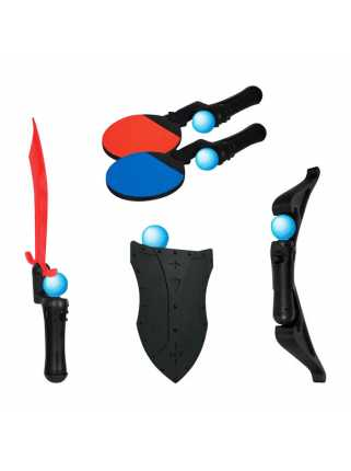 Комплект аксессуаров DREAMGEAR 5-in-1 Game Essentials DGPS3-3817 для PlayStation Move