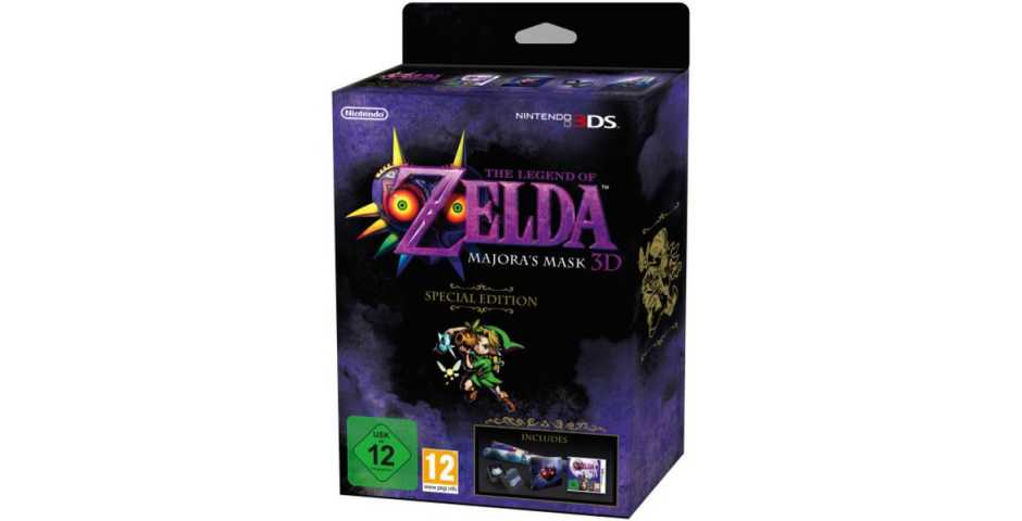 The Legend of Zelda Majora's Mask Ограниченное издание (Limited Edition) [3DS]