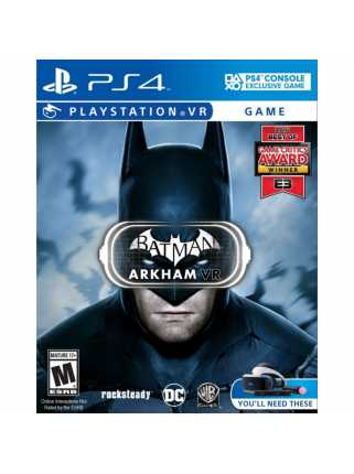 Batman: Arkham VR (только для VR) [PS4]
