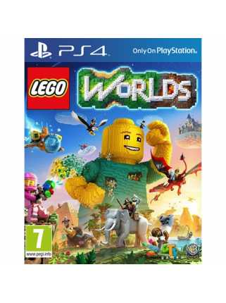 LEGO Worlds [PS4, русская версия]
