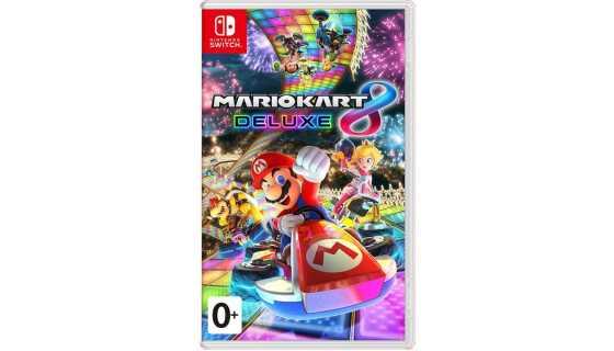 Mario Kart 8 Deluxe (Русская версия) [Switch]