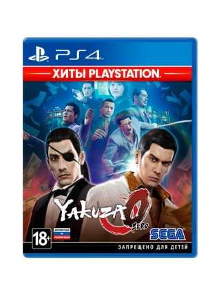 Yakuza Zero (Хиты PlayStation) [PS4, русская документация]