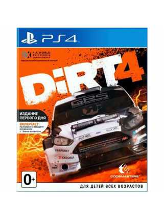 DiRT 4. Day 1 Edition  [PS4]