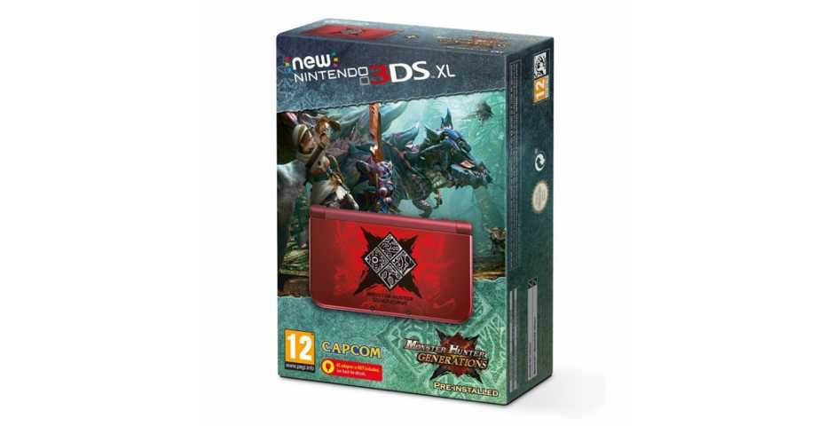 ГлавнаяПриставкиNintendoNew Nintendo 3DS XL Monster Hunter Generations EditionИнтернет-магазин видеоигр www.mydevice.by