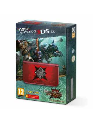 New Nintendo 3DS XL Monster Hunter Generations Edition (USED)