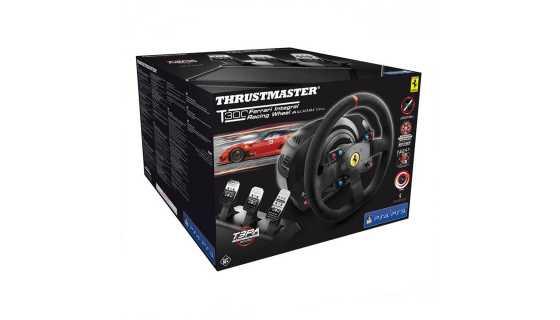 Руль Thrustmaster T300 Ferrari Integral Rw Alcantara PS3/PS4