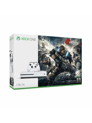 Xbox One S 1TB+Gears of War 4+подписка Xbox Live на 3 месяца (РСТ)