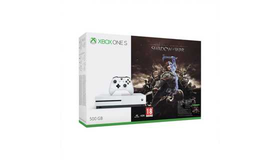 Xbox One S 500GB Shadow of War