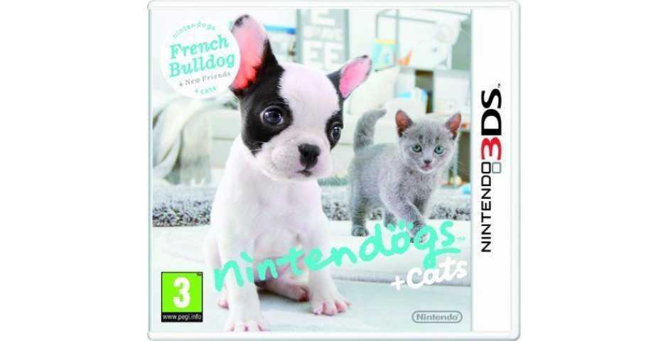 Nintendogs + Cats - French Bulldog [3DS]