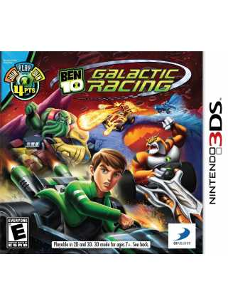 Ben 10: Galactic Racing [3DS]