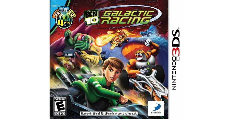 Ben 10: Galactic Racing [3DS]