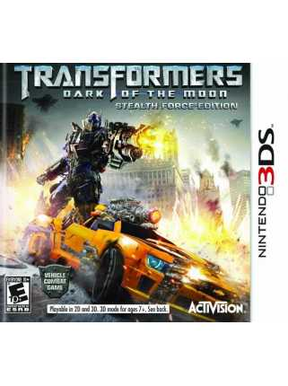 Transformers: Dark of the Moon Stealth Force Edition [3DS]