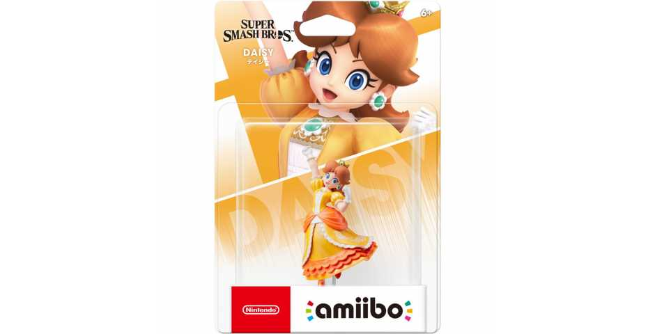 Фигурка amiibo - Дейзи (Daisy, коллекция Super Smash Bros)