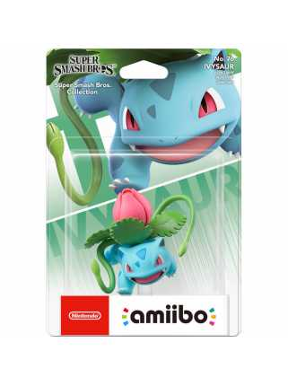 Фигурка amiibo - Айвизавр (Ivysaur, коллекция Super Smash Bros)