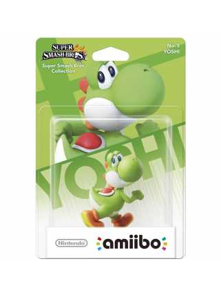 Фигурка amiibo - Йоши (Yoshi, коллекция Super Smash Bros)