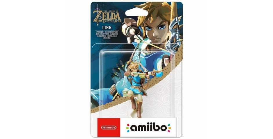 Фигурка amiibo - Линк(Лучник) (Link Archer коллекция The Legend of Zelda)