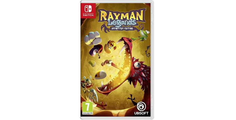 Nintendo - Rayman Legends: Definitive Edition