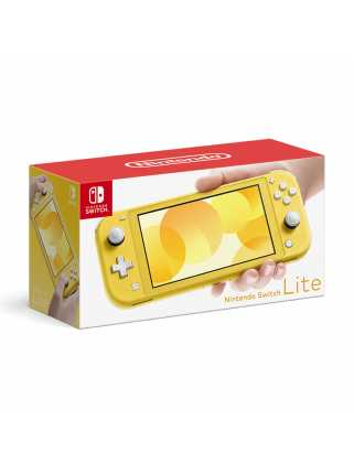 Nintendo Switch Lite (желтый)