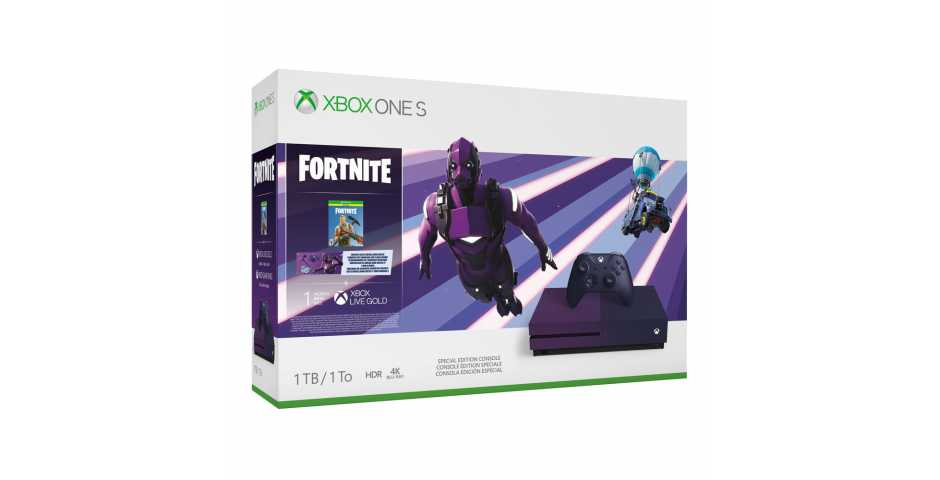 Microsoft Xbox One S 1TB Fortnite Special Edition