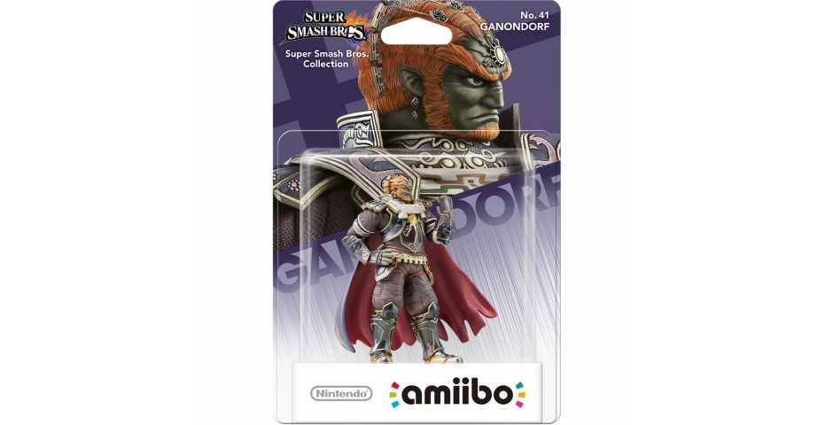 Фигурка amiibo - Ганондорф (Ganondorf, коллекция Super Smash Bros)