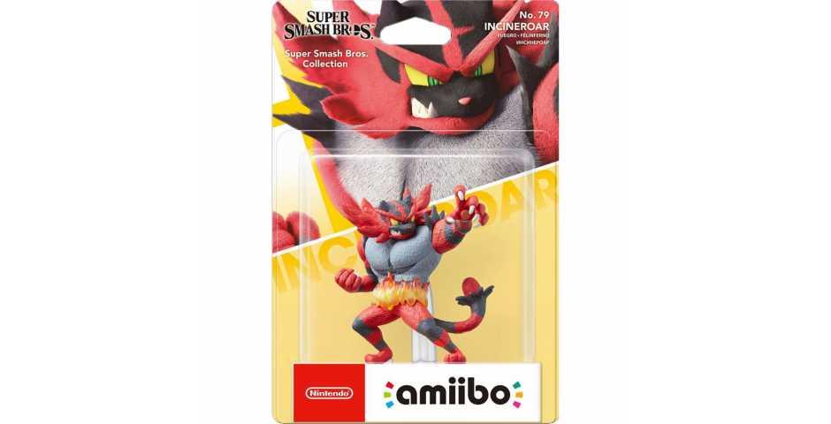 Фигурка amiibo - Инсинероар (Incineroar, коллекция Super Smash Bros)