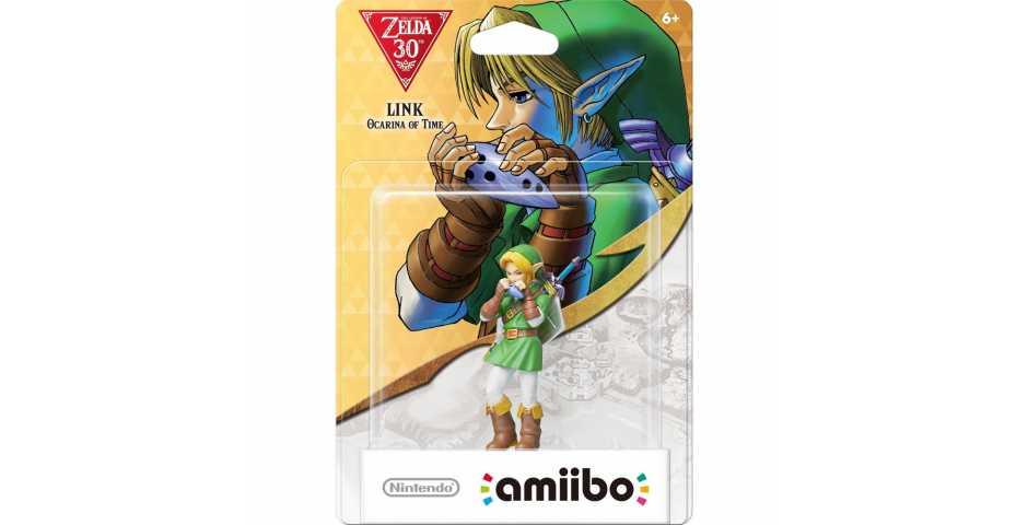 Фигурка amiibo - Линк (Link - Ocarina of Time, коллекция 30th Anniversary)