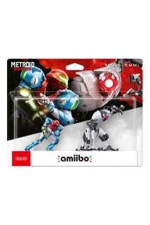 Комплект фигурок amiibo - Самус + ЭММИ (Samus + EMMI, коллекция Metroid)