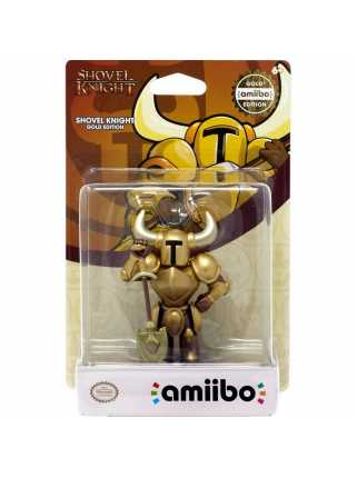 Фигурка amiibo - Shovel Knight Gold Edition (коллекция Shovel Knight)
