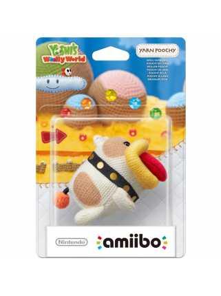 Фигурка amiibo - Вязаный Пучи (Yarn Poochy, коллекция Yoshi's Woolly World)