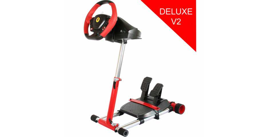 Подставка для руля Wheel Stand Pro V2 ROSSO (Thrustmaster F458 SPIDER/T80/T100/F458/F430) (Red)