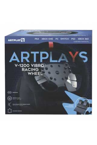Руль Artplays V-1200 Vibro Premium Leather Edition
