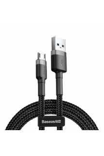 Кабель Baseus Cafule Cable USB для MicroUSB (1,5A, 2m, grey-black)