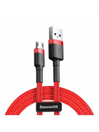 Кабель Baseus Cafule Cable USB для MicroUSB (1,5A, 2m, red-red)