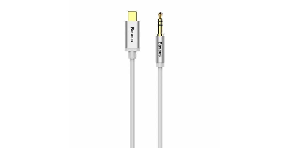 Кабель Baseus M01 Digital Audio Cable USB для 3.5 mm (белый)