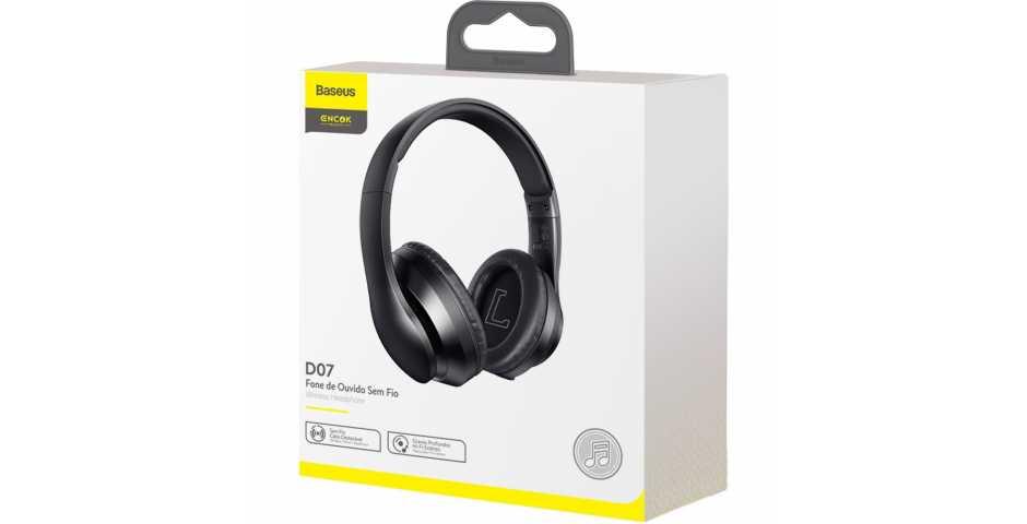 Наушники Baseus Encok D07 Wireless Headphone