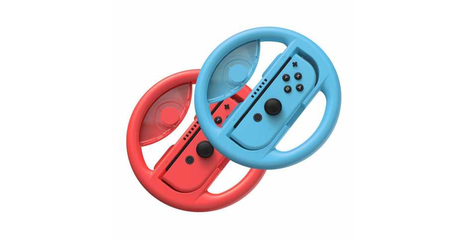 Держатель Baseus SW Wheel Handle (красный + синий) [Switch]